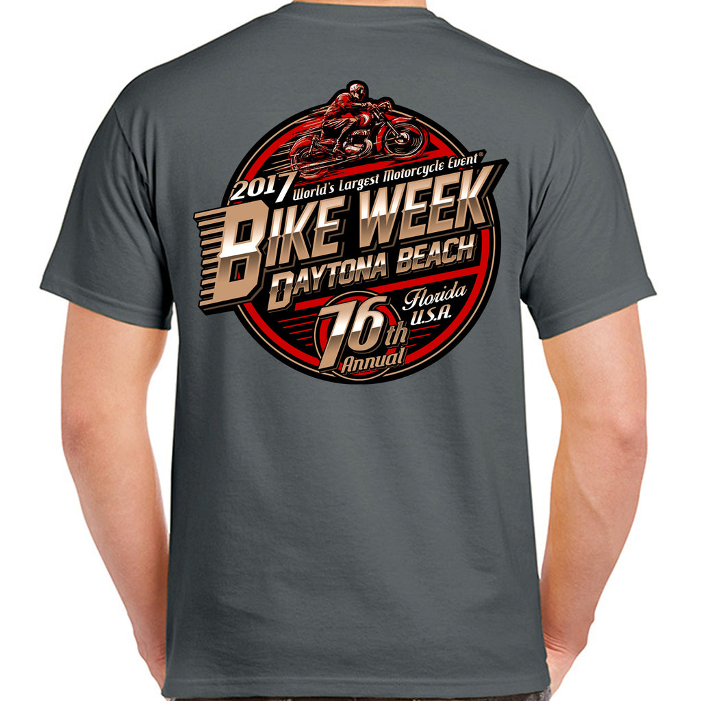 2017 Bike Week Daytona Beach Official Logo T-Shirt