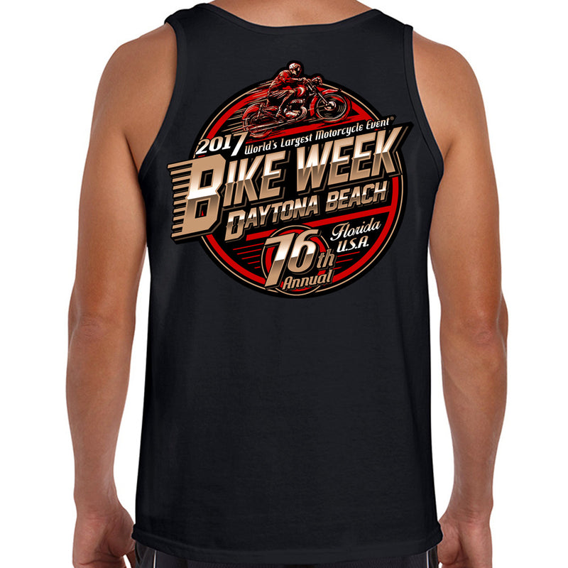 2017 Bike Week Daytona Beach Official Logo Tank Top