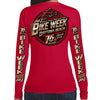 Ladies 2017 Bike Week Daytona Beach Official Logo Long Sleeve