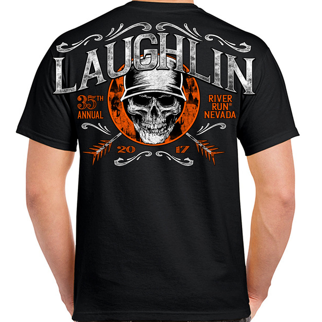 2017 Laughlin River Run Helmet Hair T-Shirt