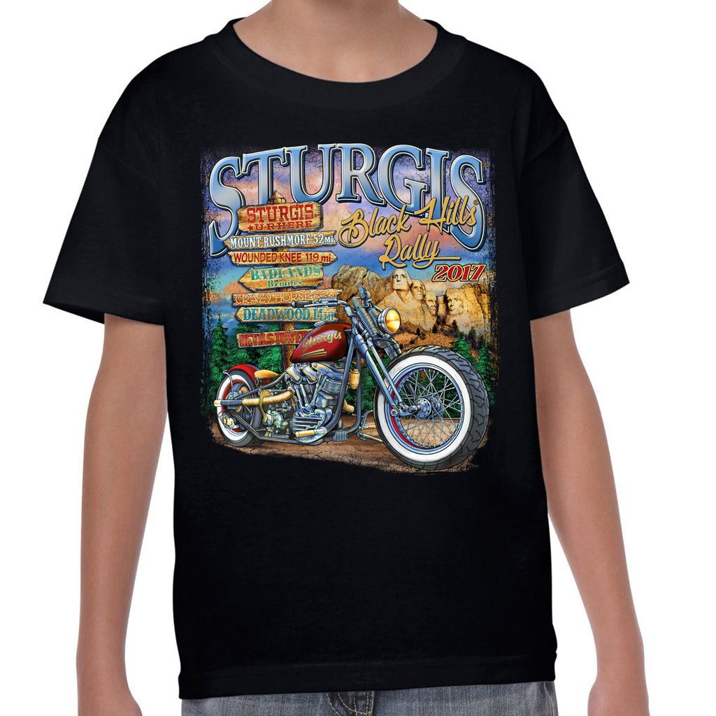 2017 Sturgis U R Here Kids T-Shirt