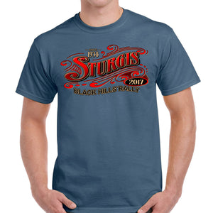 2017 Sturgis Main Street Short Sleeve T-Shirt
