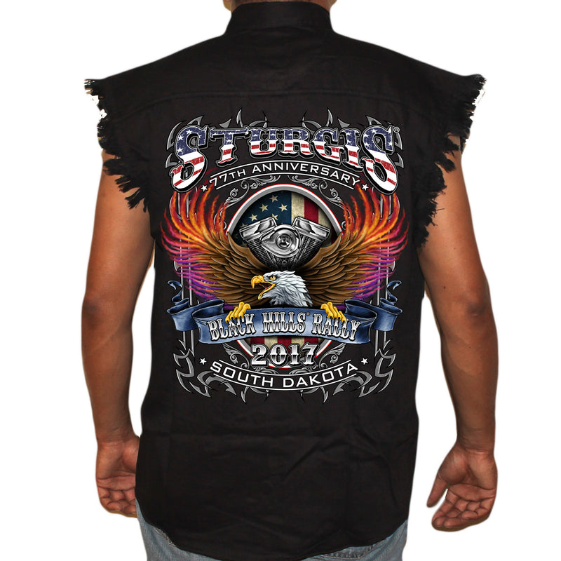2017 Sturgis B-Strong Cut-off Denim