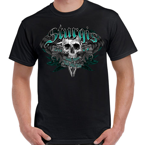 2017 Sturgis Feathered Out Short Sleeve T-Shirt