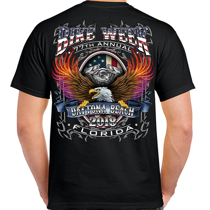 2018 Bike Week Daytona Beach B-Strong T-Shirt