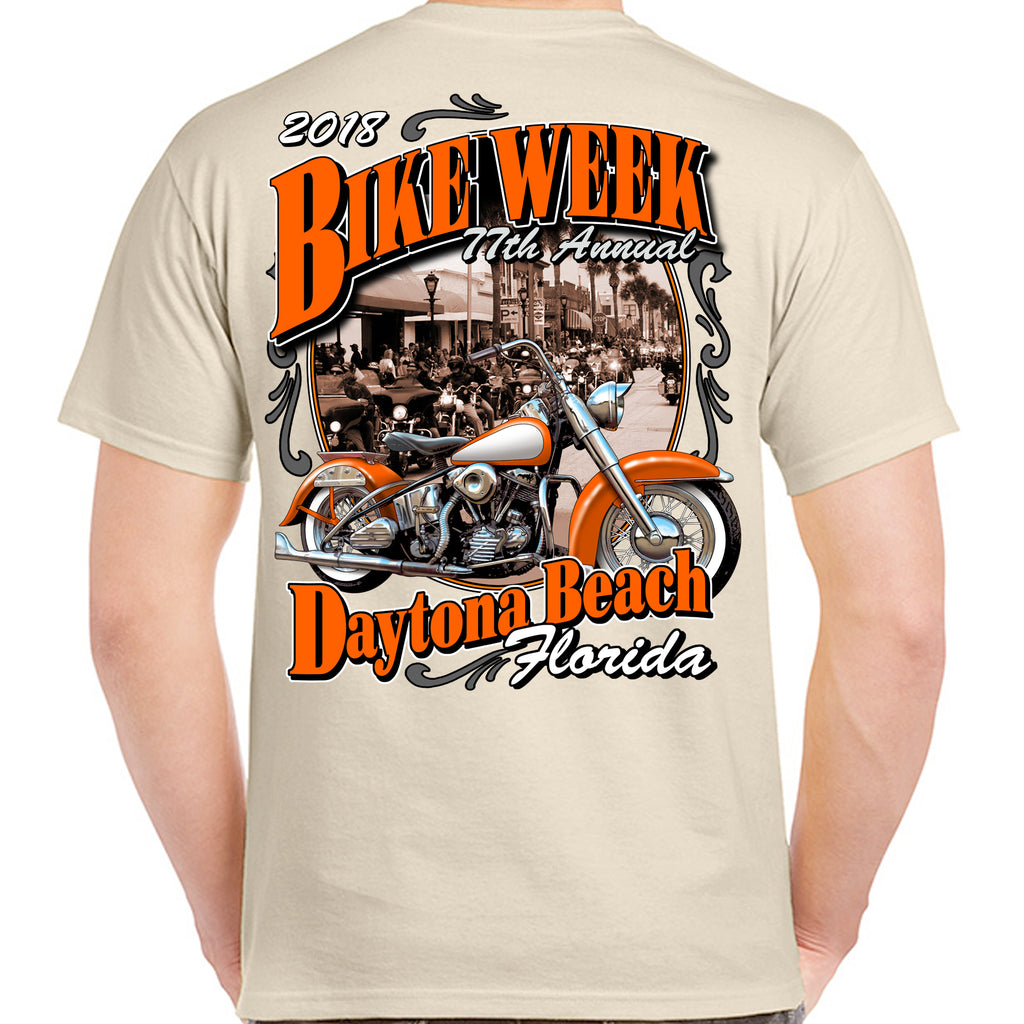 2018 Bike Week Daytona Beach Vintage Classic T-Shirt