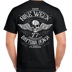 2018 Bike Week Daytona Beach Ascended Skull T-Shirt