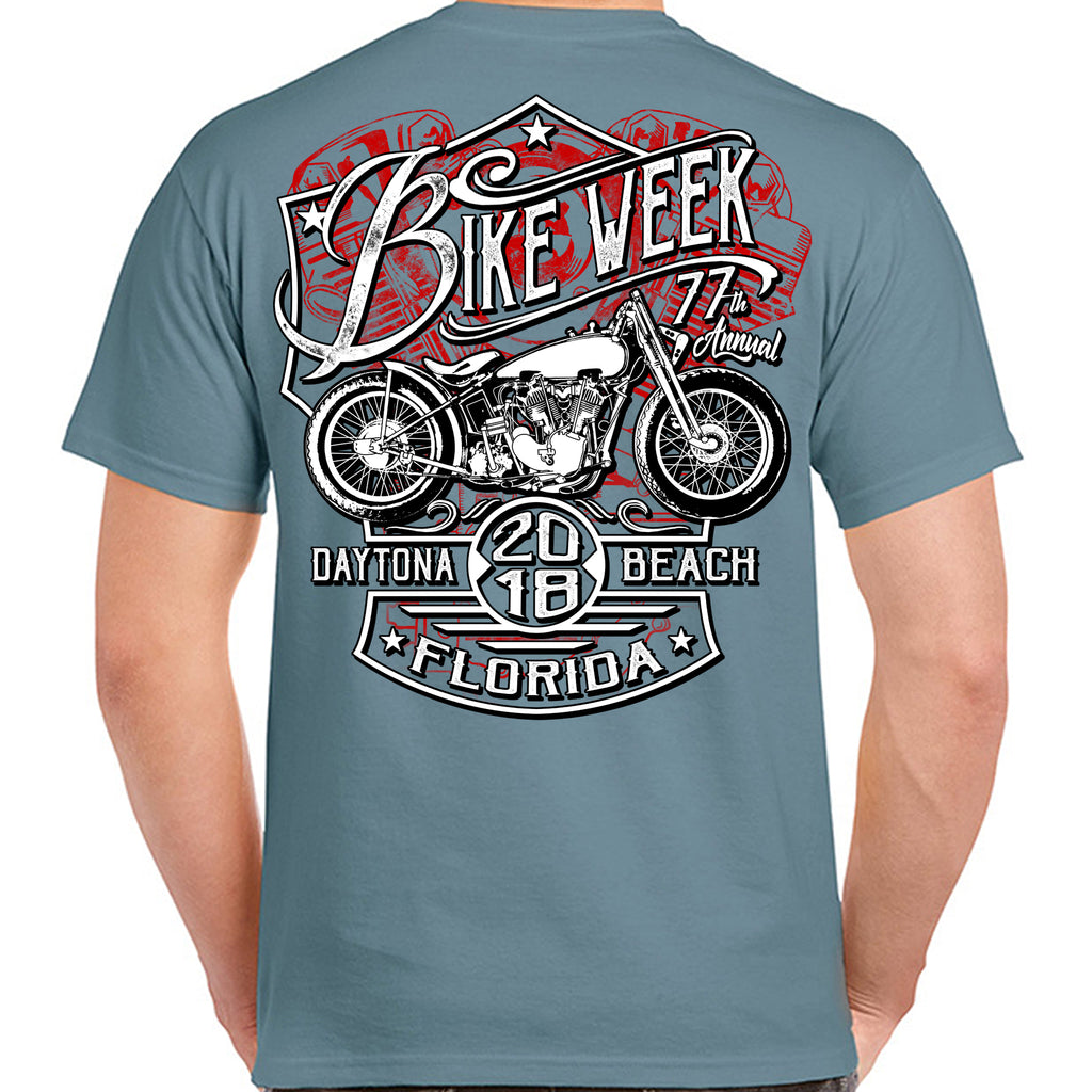2018 Bike Week Daytona Beach Speed Demon T-Shirt