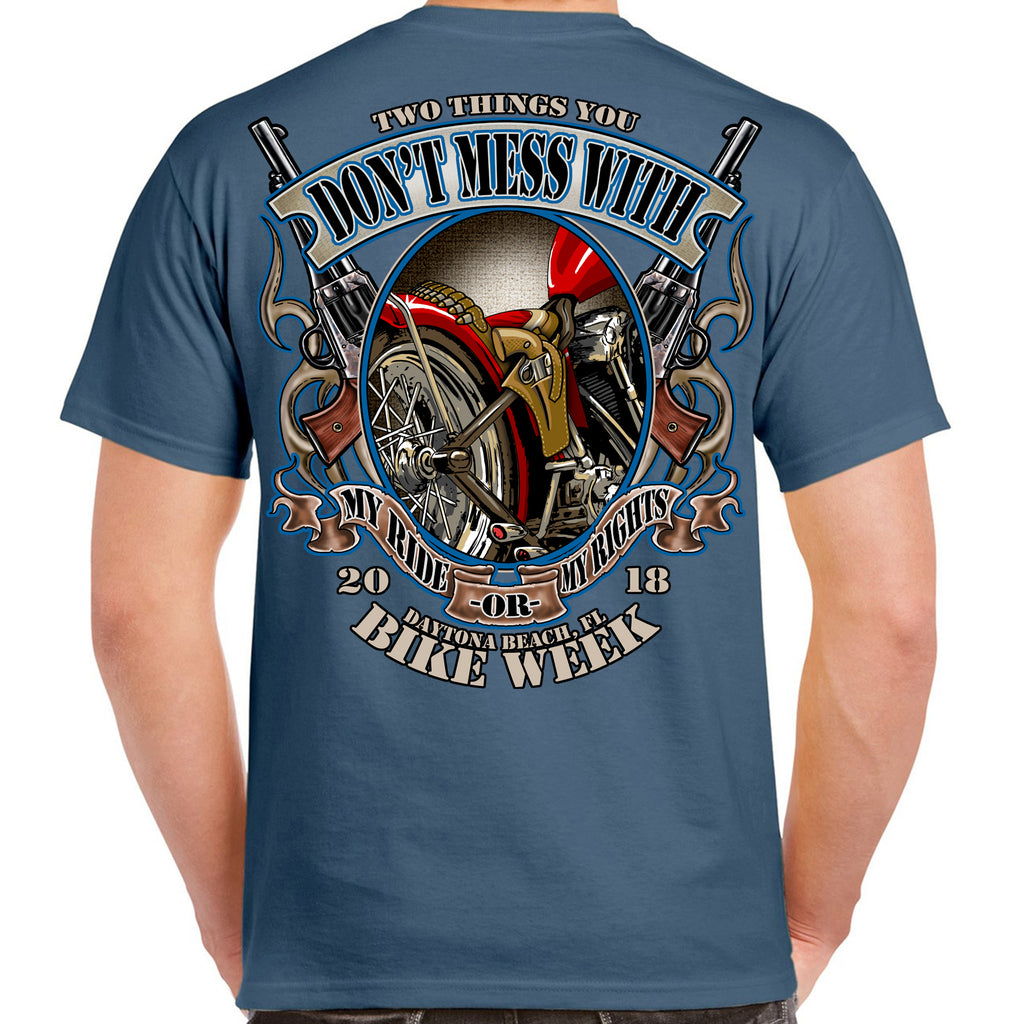 2018 Bike Week Daytona Beach My Ride, My Rights T-Shirt