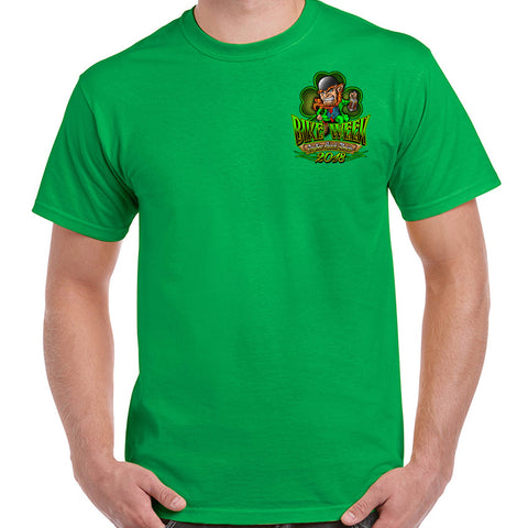 2018 Bike Week Daytona Beach St. Patty's T-Shirt