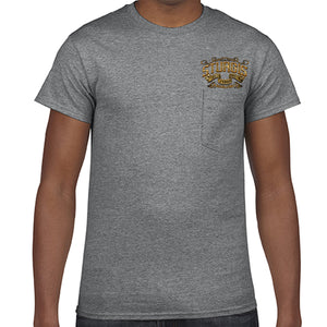 2018 Sturgis Black Hills Rally Main Street Engine Pocket T-Shirt