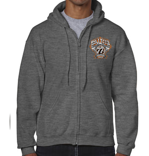 2018 Bike Week Daytona Beach Official Logo Zip Up Hoodie