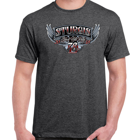 2018 Sturgis Black Hills Rally Patriot T-Shirt