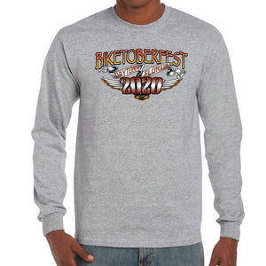 2020 Biketoberfest Daytona Beach Sunset Bike Shield Long Sleeve Shirt