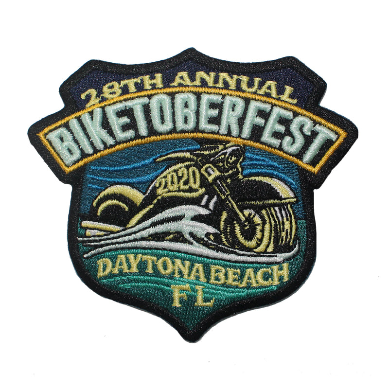 2020 Biketoberfest Daytona Beach Official Logo Patch