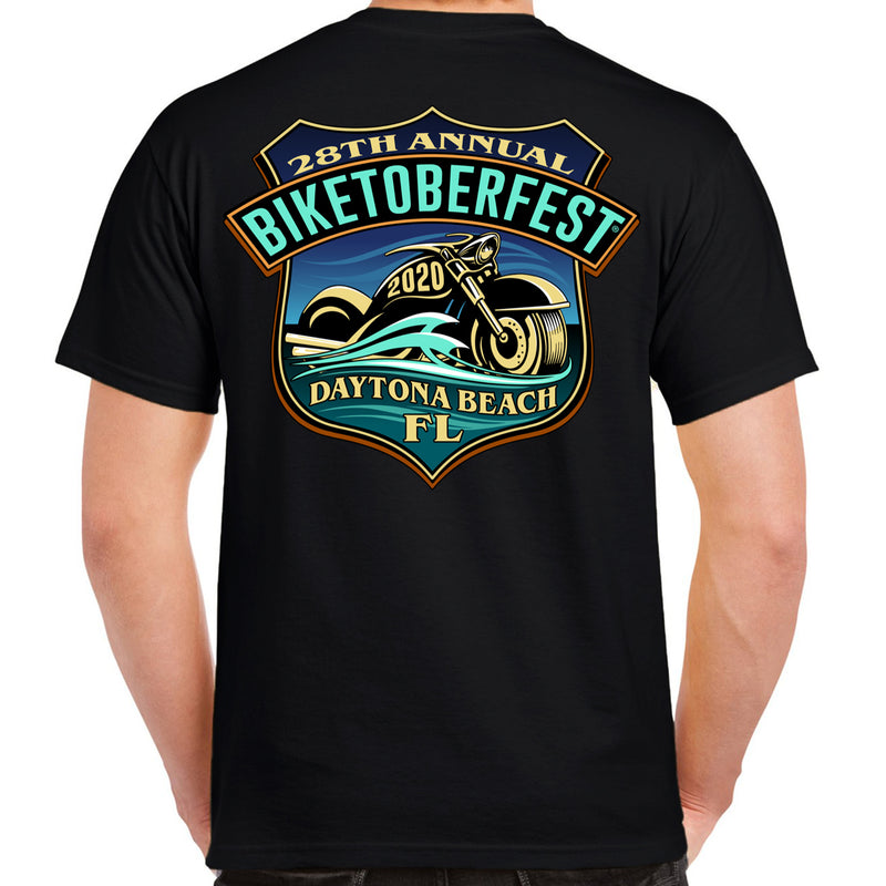 2020 Biketoberfest Daytona Beach Official Logo T-Shirt