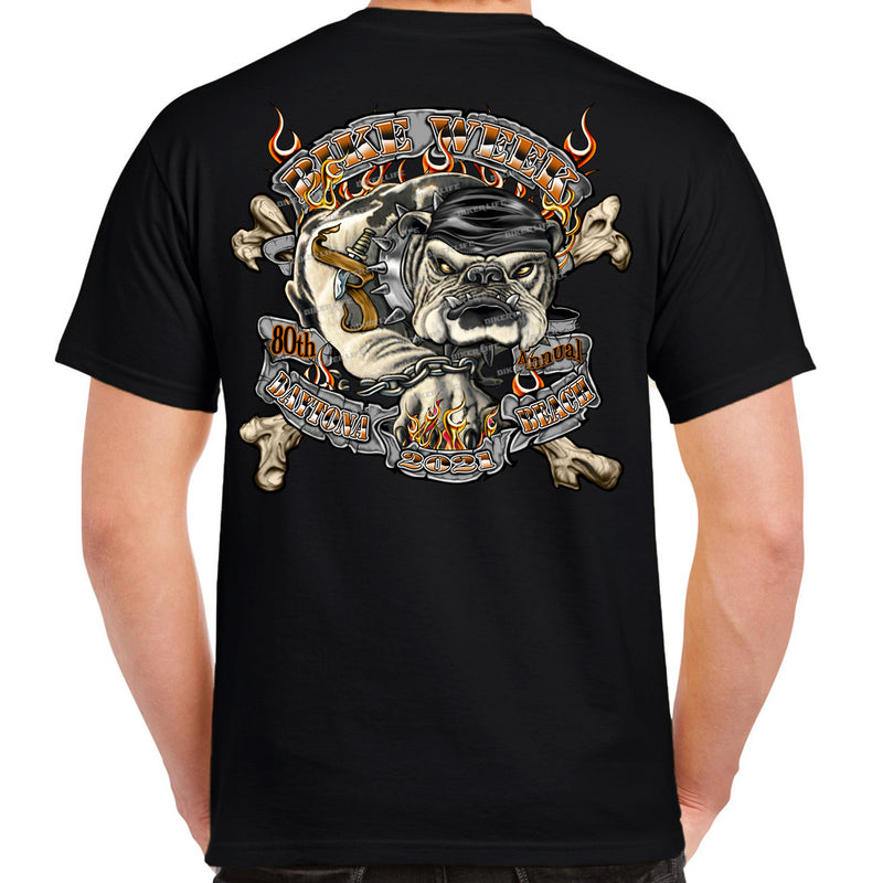 2021 Bike Week Daytona Beach Dogs Of War T-Shirt