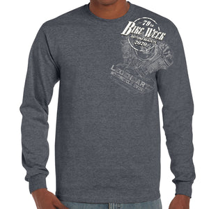2020 Bike Week Daytona Beach Legend Engine Long Sleeve Shirt