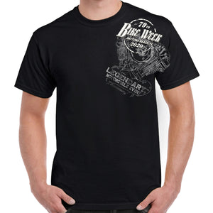 2020 Bike Week Daytona Beach Legend Engine T-Shirt