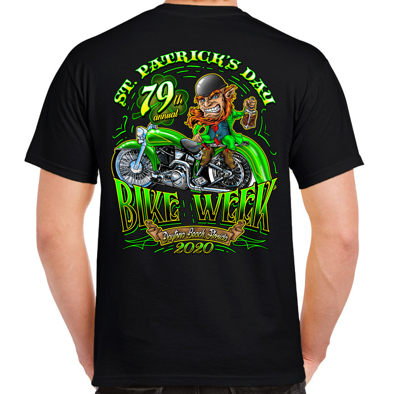 2020 Bike Week Daytona Beach St. Paddy's T-Shirt