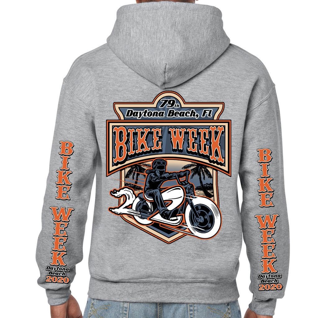 2020 Bike Week Daytona Beach Beach Rider Pullover Hoodie
