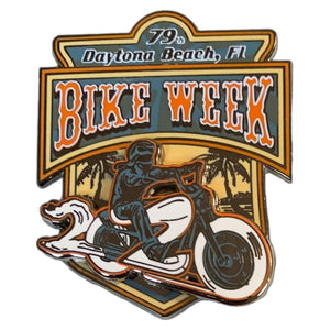 2020 Bike Week Daytona Beach Rider Pin