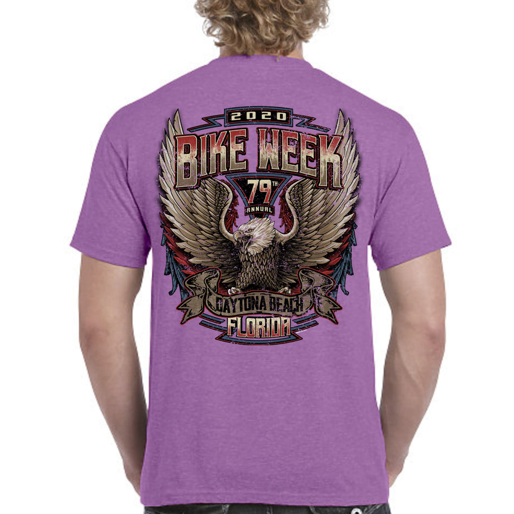 2020 Bike Week Daytona Beach Power Eagle T-Shirt