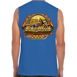 2020 Bike Week Daytona Beach Official Logo Muscle Shirt