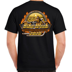 2020 Bike Week Daytona Beach Official Logo T-Shirt