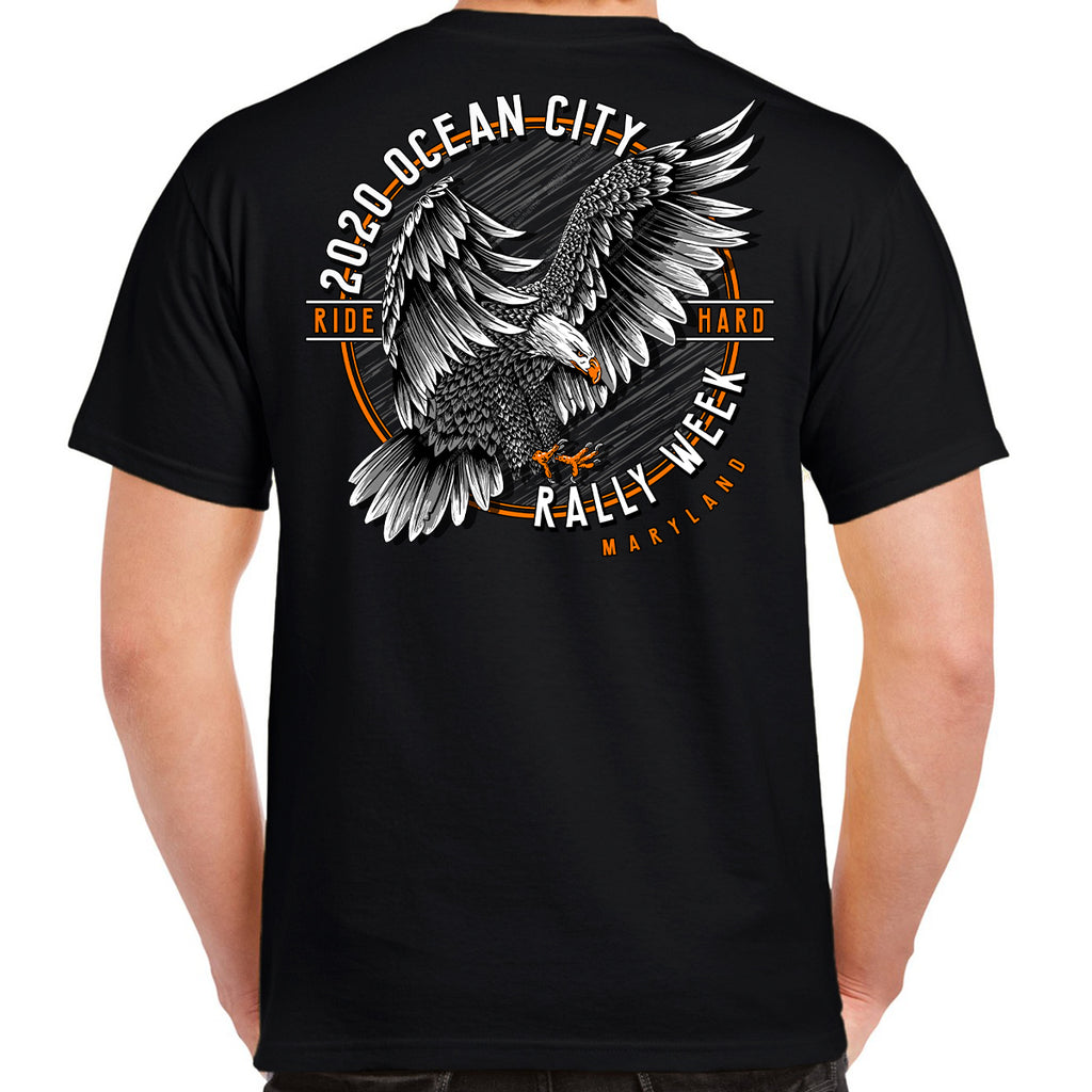 2020 Ocean City Rally Week Eagle Landing T-Shirt
