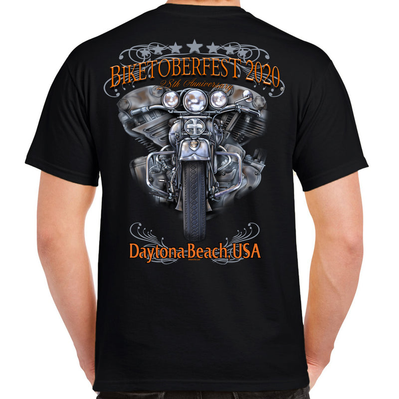 2020 Biketoberfest Daytona Beach Ride to Remember T-Shirt