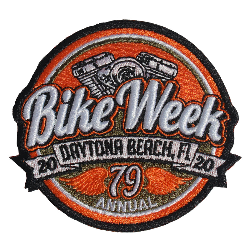 2020 Bike Week Daytona Beach Patch