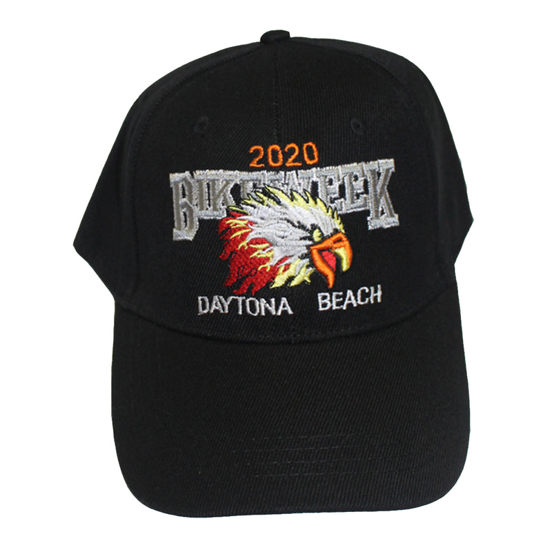 2020 Bike Week Daytona Beach Embroidered Eagle Hat