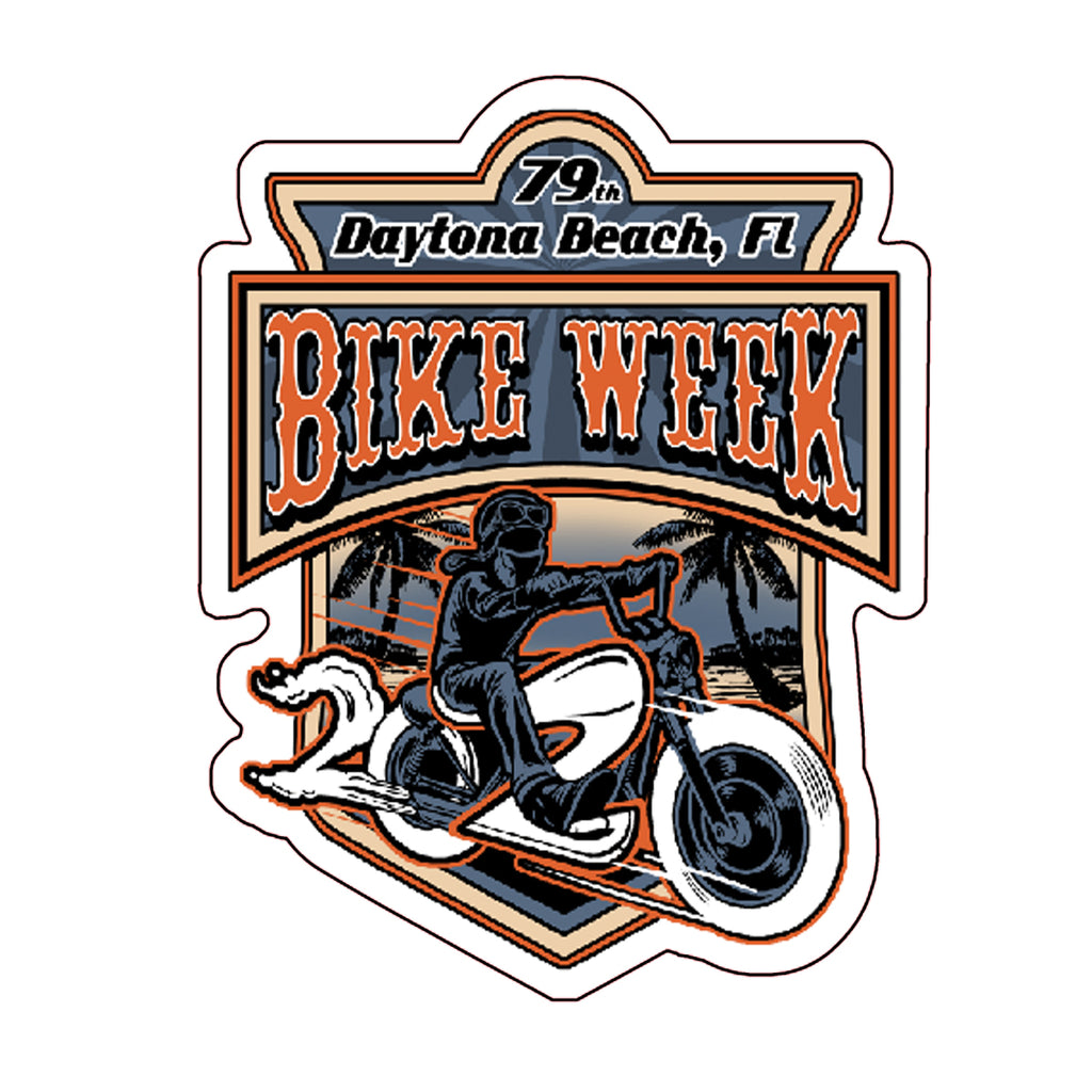 2020 Bike Week Daytona Beach Rider Sticker