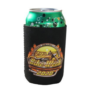 2020 Bike Week Daytona Beach Official Logo Can Koozie