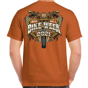 2021 Bike Week Daytona Beach Official Logo T-Shirt