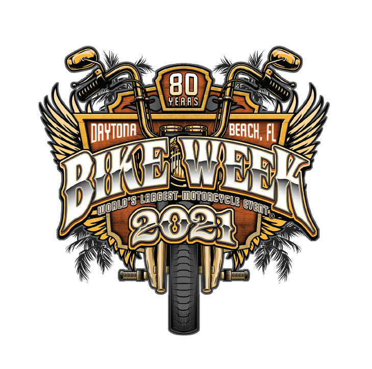 2021 Bike Week Daytona Beach Official Logo Sticker