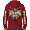 2021 Bike Week Daytona Beach Official Logo Zip-Up Hoodie
