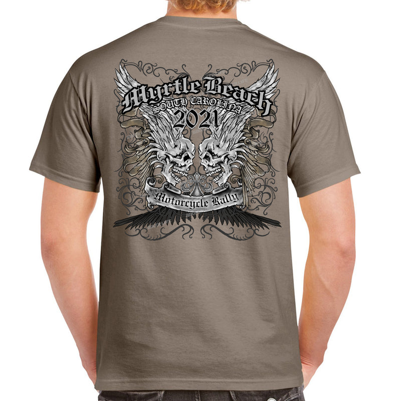 2021 Myrtle Beach Motorcycle Rally Afflicted T-Shirt