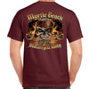2021 Myrtle Beach Motorcycle Rally Pirate Skull T-Shirt