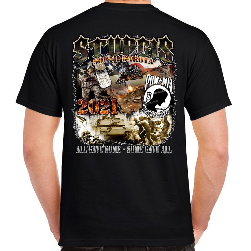 2021 Sturgis Motorcycle Rally POW MIA Remembrance T-Shirt