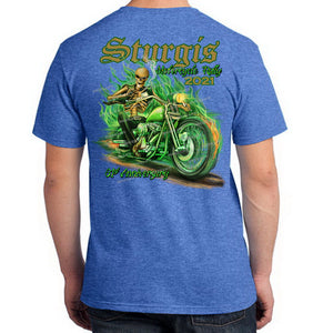 2021 Sturgis Motorcycle Rally Bad To The Bone T-Shirt