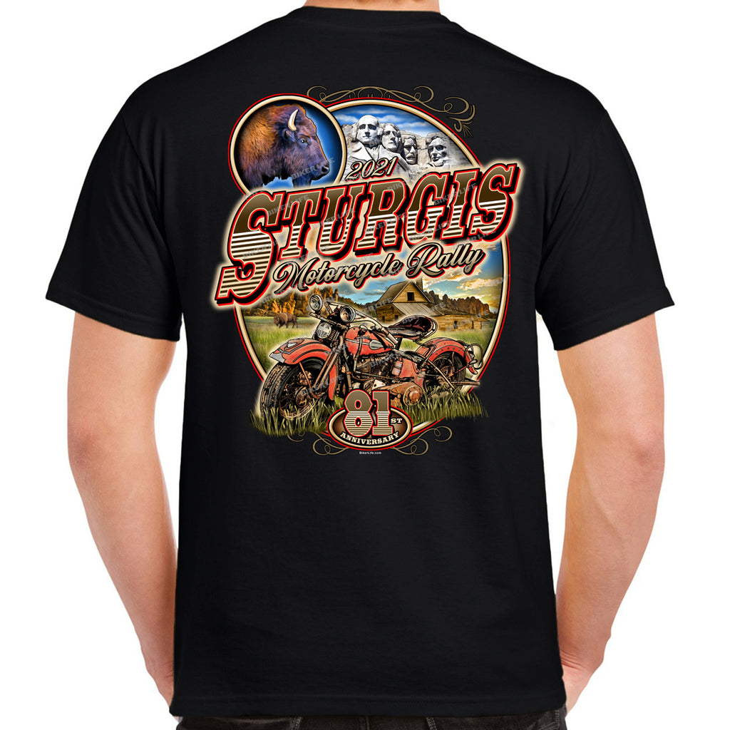 2021 Sturgis Motorcycle Rally Classic Vintage T-Shirt
