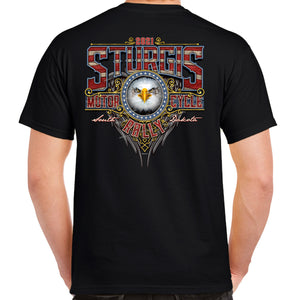 2021 Sturgis Motorcycle Rally Vintage Eagle T-Shirt