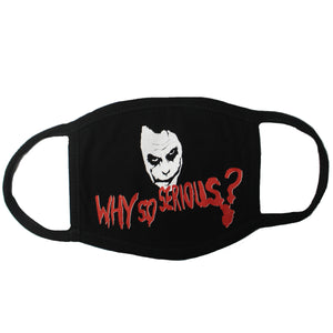 Why so serious Joker Face Mask