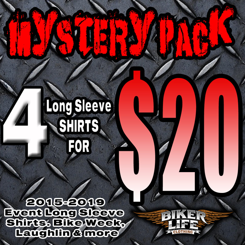 Men's 4 for $20 Mystery Pack Long Sleeve Shirts