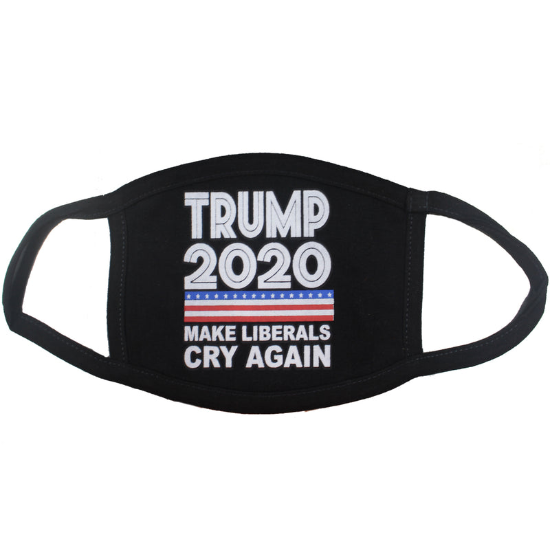 Make Liberals Cry Again Trump Face Mask