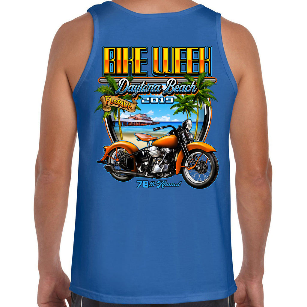 2019 Bike Week Daytona Beach Beach Shield Tank Top
