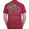 Back of 2019 Sturgis Legend Engine T-Shirt in Red