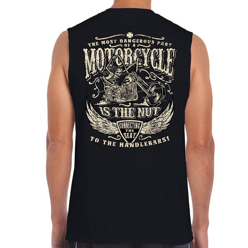 Motorcycle Nut Muscle Shirt